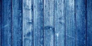 wooden blue slats background